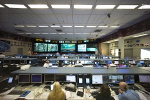 COL-CC, the Columbus Control Center,  keeps an eye on ESA's space laboratory Columbus, as well as ESA astronauts in space - at times seven days a week.