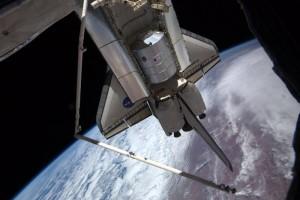 Leonardo arrives at International Space Station in Space Shuttle cargo bay. Credits: ESA/NASA