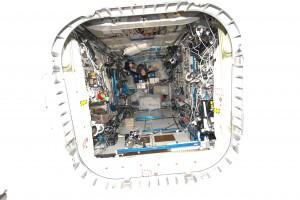 Columbus module. Credits: ESA/NASA
